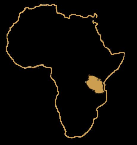 Carte d'Afrique - Où se trouve la Tanzanie