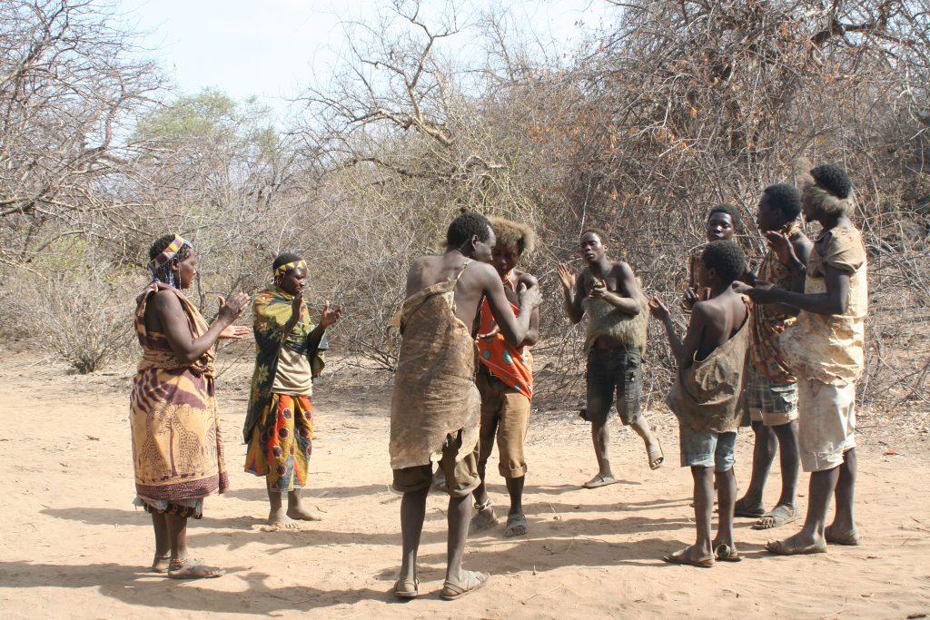 Une tribu Maasaï en Tanzanie