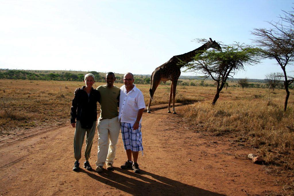 Carol Laurent Jackson fondateur du Siri Maasai Safari Tanzanie