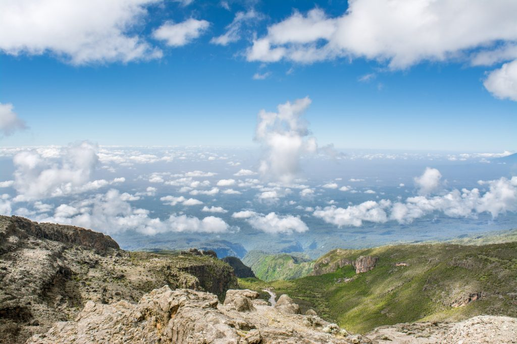 Trekking sur le Kilimandjaro